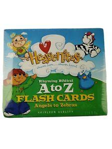 Bible Heavenites Childrens Rhyming Biblical A to Z Large Sturdy Flash Cards
