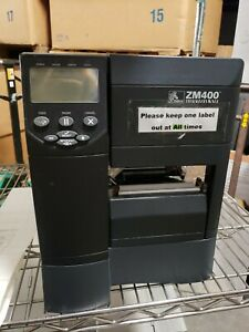 Zebra ZM400 Thermal Transfer Label Printer