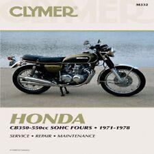 Clymer Repair Service Shop Manual Vintage Honda CB 350 F /400/500/550/550 F M332