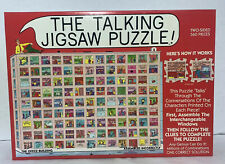 TALKING JIGSAW PUZZLE - THE OFFICE BUILDING DBL-SIDED 560 PIECES 100% COMPLETE