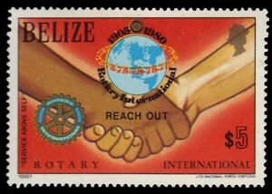 "BELIZE 544 (SG612) - Rotary International ""Reach Out"" (pf34375)"