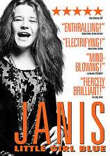 JANIS JOPLIN New Sealed 2017 COMPLETE HISTORY & BIOGRAPHY DVD