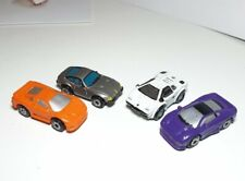 Micro Machines lot of 4 - Ferrari, Lambo, Jaguar, Bugatti