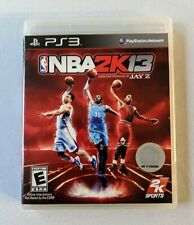 NBA 2K13 For Playstation 3 PS3 Complete In Box Produced By Jay Z