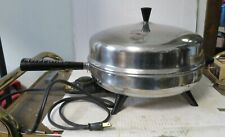"""Farberware Vintage Electric Skillet Frying Pan 310-A 12"""" High Dome Lid NICE!"""