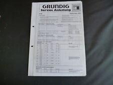 Original Service Manual Grundig Yacht Boy 650