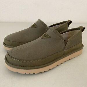 NEW UGG Mens Romeo Canvas Slipper Slip-On Slide Shoes Green Size 11 (1118512)