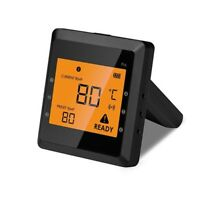 LCD BBQ Grill Remote Smart Bluetooth Digital Display Kitchen Oven Thermometer