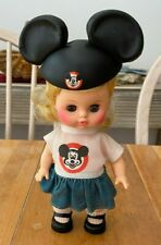 Vintage 1960's Horsman Mouseketeer Doll Mickey Mouse Club Girl