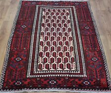 OLD WOOL HAND MADE PERSIAN ORIENTAL FLORAL RUNNER AREA RUG CARPET 193x120CM