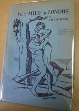 From Milo to Londos The Story of Wrestling SIGNED Nat Fleischer
