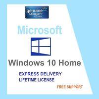 GENUINE WINDOWS 10 HOME 32/64-BIT OEM ORIGINAL LICENSE KEY SCRAP PC