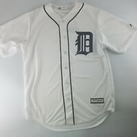 Detroit Tigers MLB Official Majestic Cool Base Home White Jersey Men's