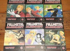 fullmetal alchemist manga vol 1-6 english