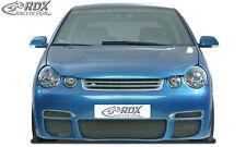 """RDX Stoßstange VW Polo 9N """"GT4"""" Front Schürze Front Spoiler"""