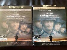 Saving Private Ryan (4K Uhd + Bluray) No digital.
