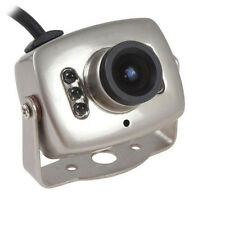 Mini Wired 6Led CMOS CCTV Security Camera Night Vision Hidden Pinhole Spy Camera