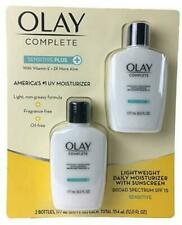 NEW Olay Complete Sensitive Plus UV365 Daily Moisturizer - 2 Pack