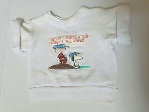 1960s Peanuts Charlie Brown Snoopy Sweatshirt Norwich Vintage Mayo Spruce
