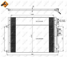 Air Con Condenser 35920 NRF AC Conditioning 55116928AA Top Quality Guaranteed