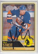 Autographed 12/13 OPC Mark Streit - Islanders