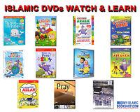 ISLAMIC ZAKY & FRIENDS DVDs MUSLIM KIDS ADULTS WATCH & LEARN DVD BEST GIFT IDEAS