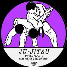 JU-JITSU VIDEO INSTRUCTION PRACTICE LESSONS FOR BLUE & BROWN BELT NEW DVD 2