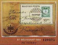 Hungary 1984 Mi BL 172 ** Day Stamp Old Stamps Briefmarken