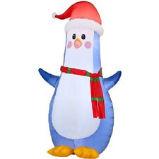 Gemmy Inflatable Airblown Penguin Outdoor Christmas Decoration with LED Lights