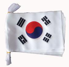 SOUTH KOREA 9 METRE BUNTING 30 FLAGS flag Seoul Korean