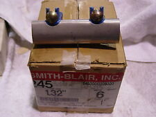 SMITH-BLAIR REDI-CLAMPS STYLE 245 9 EACH NEW