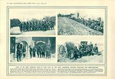 1915 Romanian Army Cavalry Guns Artillery Landmine Exploding