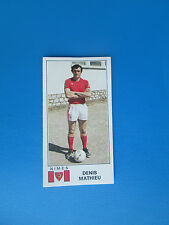 MATHIEU   NIMES OLYMPIQUE   Image sticker N° 247  FOOTBALL 77  PANINI  1977