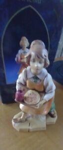 "IN BOX APP 4 1/2"" FONTANINI  1996 ITALY NATIVITY FIGURINE ""NAOMI"" CHRISTMAS TIME"