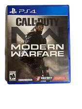 Call of Duty: Modern Warfare (PlayStation 4 , 2019) Pre Owned Read Description