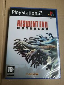 BRAND NEW SEALED RESIDENT EVIL OUTBREAK FOR PS2 SONY PLAYSTATION 2