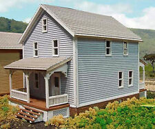 COMPANY HOUSE #2 HO Historic Model Railroad Structure Unpainted Laser Kit LA606