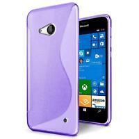 Handy Hülle für Microsoft Lumia 640 Silikon Case Slim Cover Schutz Hülle Tasche