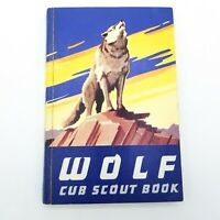 Wolf Cub Scout Book 1954 Boy Scouts of America PB Illustrated