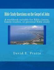 Bible Study Questions on the Gospel of John : A Workbook Suitable for Bible...