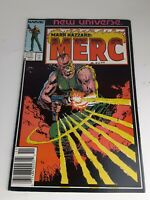 Marvel Comics New Universe Mark Hazzard Merc 1st Issue 1986