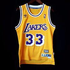 100% Authentic Kareem Abdul Jabbar GAP Soul Swingman Lakers NBA Trikot S-Kobe
