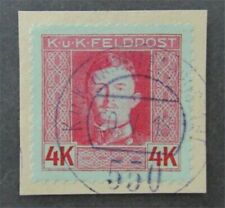 nystamps Austria Stamp # M67a Used $83