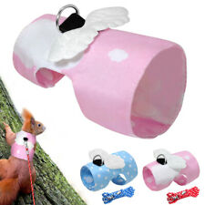 Small Animal Harness and Leash Set for Hamster Rabbit Squirrel Squirrel Walking