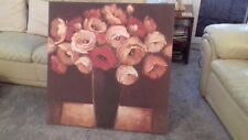 John Lewis Flower Canvas Painting