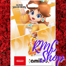amiibo Daisy Super Smash Bros Mini Figure Game Toy Nintendo Switch New 2019