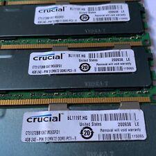 Crucial 4GB 240-PIN 512MX72 DDR3 PC3-8 CT51272BB 1067 M36SFD1 LOT OF 6