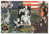 MARILYN MONROE HISTORY OF CINEMA JFK APOLLO 11 NIGER 1999 MNH STAMP SHEETLET