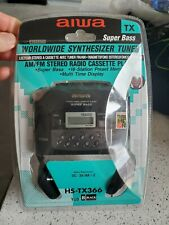 Aiwa Cassette, Am/Fm Worldwide Synthesizer Tuner.New In Packaging