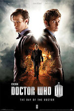 Doctor Who - Day of the Dr POSTER 60x90cm NEW David Tennant 10th Matt Smith 11th
